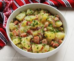 Frugal, Potato Salad, Deserts, Food And Drink, Potatoes, Tasty, Foods, Cooking, Ethnic Recipes