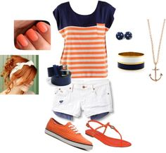 Orange Spice, created by danicashea on Polyvore