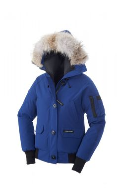 Canada Goose Chilliwack Bomber Jaket Pacific Blue Women - Canada Goose ($851→$249)
