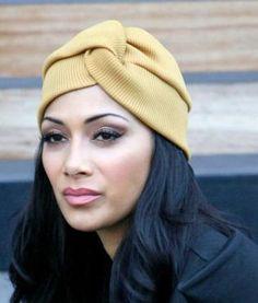 Nicole Sherzinger turban