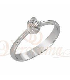 Μονόπετρo δαχτυλίδι Κ18 λευκόχρυσο με διαμάντι κοπής brilliant - MBR_014 Engagement Rings, Jewelry, Rings For Engagement, Wedding Rings, Jewlery, Jewels, Commitment Rings, Anillo De Compromiso, Jewerly