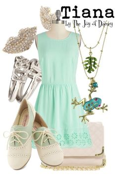 Outfit inspired by Tiana from Princess and the Frog!