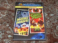 Invisible Invaders/Journey to the Seventh Planet (DVD, 2003) MGM Midnite Movies!