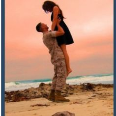 Marine engagement pictures