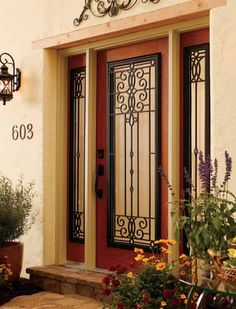 Hurricane Roved Front Doors Exterior Double Solid