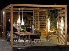 pavillon selber bauen ist abends mit freunden angenehm