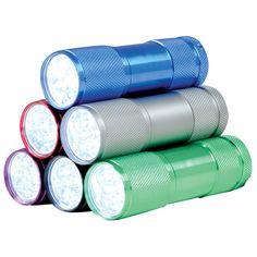 9 LED Aluminum Flashlight-