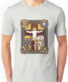 Illuminated Evangelion Unisex T-Shirt