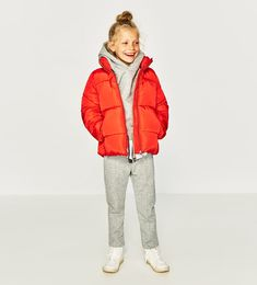 FASHION PUFFER JACKET-COATS AND JACKETS-GIRL | 5-14 years-KIDS-SALE | ZARA United Kingdom