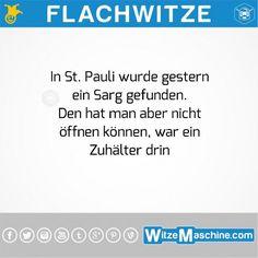 Flachwitze #252 - Zuhälter Witze