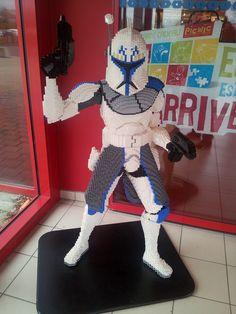 A Lego Star Wars clone, XL size ! #lego #starwars