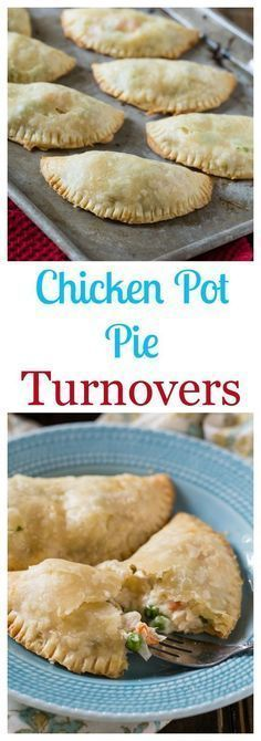 Easy Chicken Pot Pie Turnovers made with refrigerated pie crusts. lunch or dinne… Easy Chicken Pot Pie Turnovers made with refrigerated pie crusts. lunch or dinner, easy to make and freeze thaw one out then take it to work the next day. Turkey Recipes, Dinner Recipes, Pork Recipes, Easy Recipes, Kraft Recipes, Healthy Recipes, Healthy Foods, Easy Chicken Pot Pie, Can Chicken Recipes