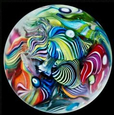 Eddie Seese Spheres / Marbles More @ FOSTERGINGER At Pinterest
