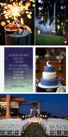 A Magical Night Wedding | www.yesbabydaily.com