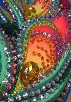 details Aerial Costume, Rhythmic Gymnastics Leotards, Figure Skating Dresses, Belly Dance Costumes, Ballroom Dress, Jewel Tones, Dance Dresses, Rhinestone Dress, Samba