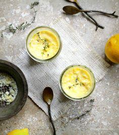 Lemon Pots de Creme