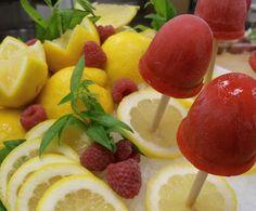 Berry Lemonade Vodka Popsicles