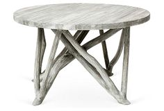 Branch Forest Coffee Table, Washed Gray | Stylish Upgrades | One Kings Lane