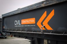 Vehicle fleet signage for Civil Construction