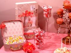 Very pretty candy buffet by Creative Candy Design, Hermitage, TN