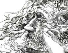 """Check out new work on my @Behance portfolio: """"The  Soul of the Oceans by Maria Pletneva"""" http://on.be.net/1LKF60q"""