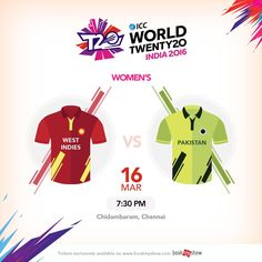 This time it's the women in action. A motivated #PAK team will take on an in-form #WI side. #WT20 #T20withBMS