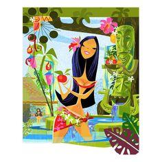 Mark Swanson - Hawaiian Art, Tiki Bar