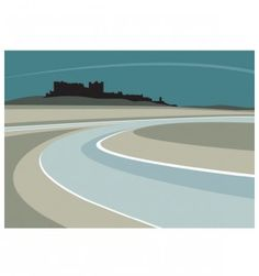 We have a large collection of prints from the North East England. Locations include: Tyne, Newcastle, Gateshead, Dunstanburgh and many more! Landscape Illustration, Graphic Design Illustration, Art Deco Paintings, Ocean Scenes, 2d Art, Cool Landscapes, Abstract Landscape, Abstract Art, Wall Art Designs