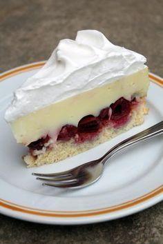 meggyes vanilia torta