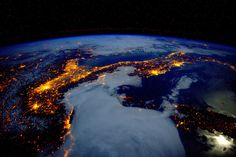 Earth observation taken by the Expedition 46 crew   by NASA Johnson