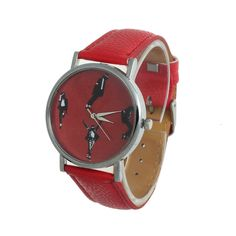 >> Click to Buy << 2015 New Arrival Fashion Casual Women Men Leather Band Analog Quartz Dial Wrist Watch Wholesale #Affiliate