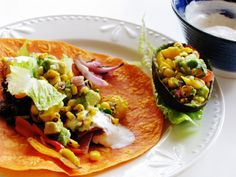 themustardseed......: Spicy black bean wrap with mango, avocado and burn...
