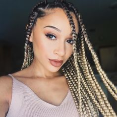 Triangle part box braids.... (@luhhsetty) on Instagram+YouTube