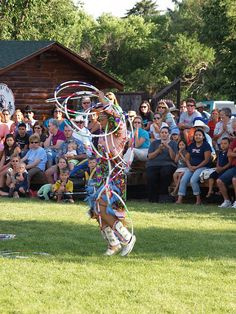 Cheyenne WY Wyoming Frontier Days Native American Indian Dancing July 20 2009 Indian Village Pow Wow Dance P7212277 by mrchriscornwell, via Flickr