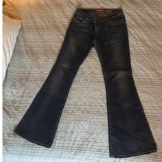 """Miss Sixty Bell Bottoms Jeans In new condition. Worn once. Beautiful jeans. """"Extra Low Tommy"""" style. Miss Sixty Pants Boot Cut & Flare"""