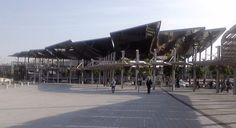 Los Encantes Vells, nuevo edificio (2013) Barcelona