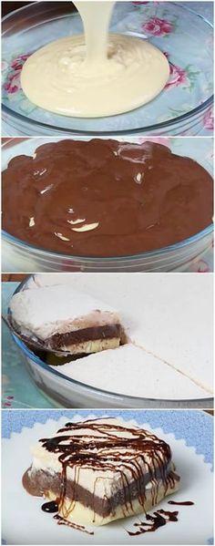 AMOR GELADO EM CAMADAS: A SOBREMESA PERFEITA! (veja a receita passo a passo) #amorgelado #sobremesa #sobremesagelada