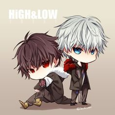 Aldnoah Zero, 三代目j Soul Brothers, Rude Boy, Chibi, High Low, Fan Art, Manga, Anime, Sora