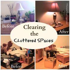Clearing up the Cluttered Spaces in Your Home