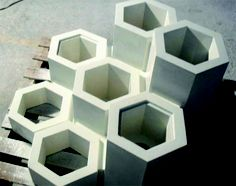 Glass Fiber Reinforced Cement | Architectural Materials Would be great for a backyard art wall installation.