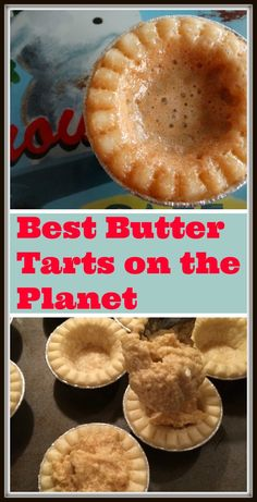 Best Butter Tarts on the Planet - Thrifty Mommas Tips - - There's something incredibly Canadian about butter tarts isn't there? Butter tarts are our favourite treats to make and share. Tart Recipes, Sweet Recipes, Cookie Recipes, Dessert Recipes, Pastry Recipes, Curry Recipes, Healthy Recipes, Mini Desserts, Just Desserts