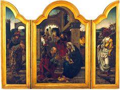 Los Tres Magos de Oriente: Tríptico de la Adoración de los Reyes Magos, de Jan van Dornicke