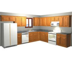 pictures of l shaped kitchen with island   ... view available cabinet door styles u shaped kitchen l shaped kitchen