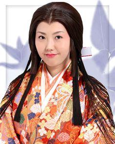 Taregami. It was used for high-class samurai's family in Momoyama era