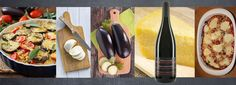 Zu dem Auberginenauflauf mit Parmesan und Mozzarella passt ein knackiges Ciabatta oder eine würzige Focaccia mit dem Rotwein aus Lombardei.....