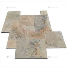 Travertine-marble-Premium - French Pattern Paver Country Classic Tumbled (In Crate) Travertine Pavers, French Pattern, Crates, Wood, Marble, Country, Classic, Home Decor, Derby