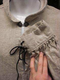 Men's Linen Medieval Shirt/Tunic   XL by MossyRoseCB on Etsy