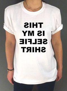 This Is My Selfie Shirt Mirror Unisex Tshirt by FashionEnemyShirt