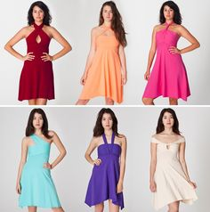 Convertible Cotton Spandex Bandeau Dress | 12 Chic Pieces of Convertible Clothing