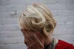 I love these pin curls